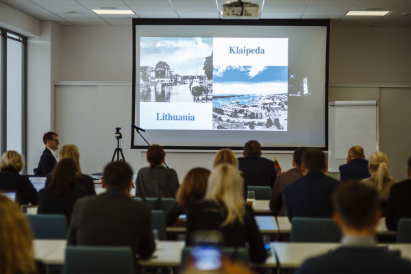 Klaipėda harnesses foreign experts for the development of blue economy