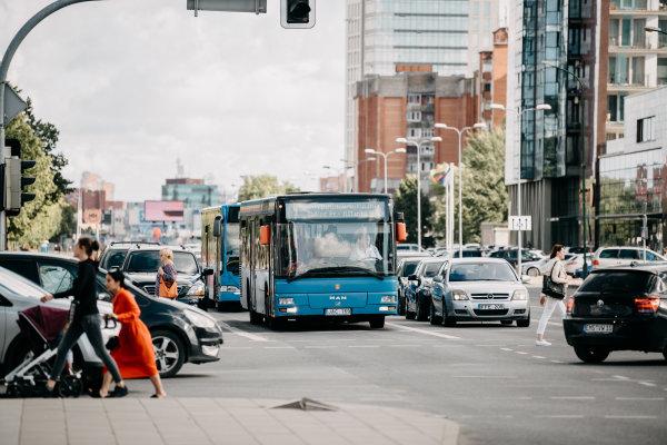 Transporto srautus reguliuos moderni sistema