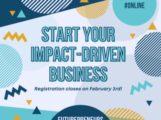 Register and start your impact- driven business!