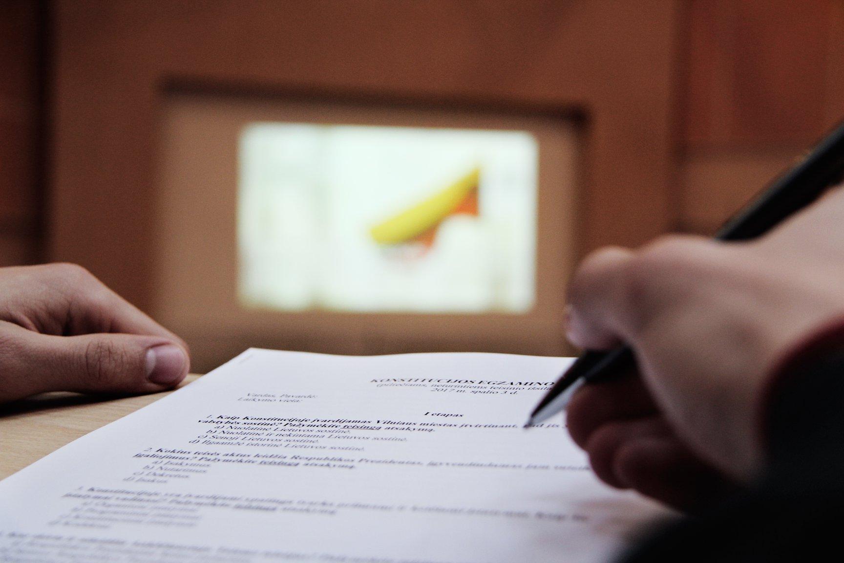 Konstitucijos egzaminas 2018 | Klaipėdos miesto savivaldybė