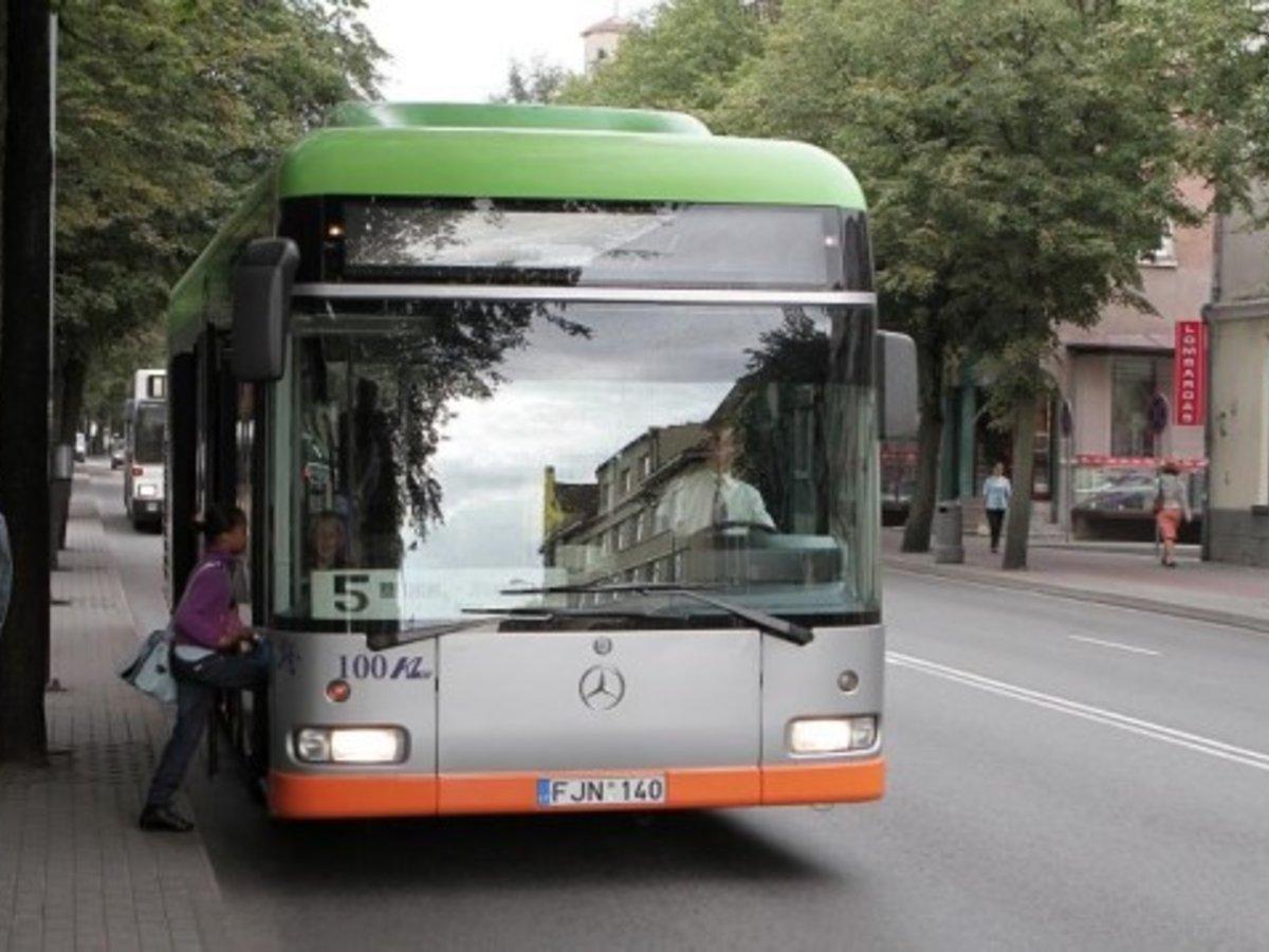 Vilniaus miesto autobusu fotogalerija 18